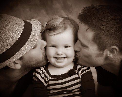Les papas aussi n'ont pas besoin de femmes pour élever leur enfant.