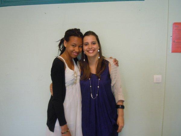 Chrystelle et moi