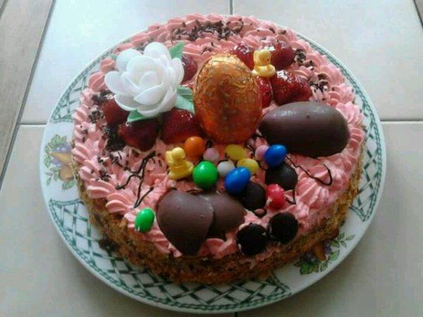 Paques de mes miss ..et le gâteau confectionner maison