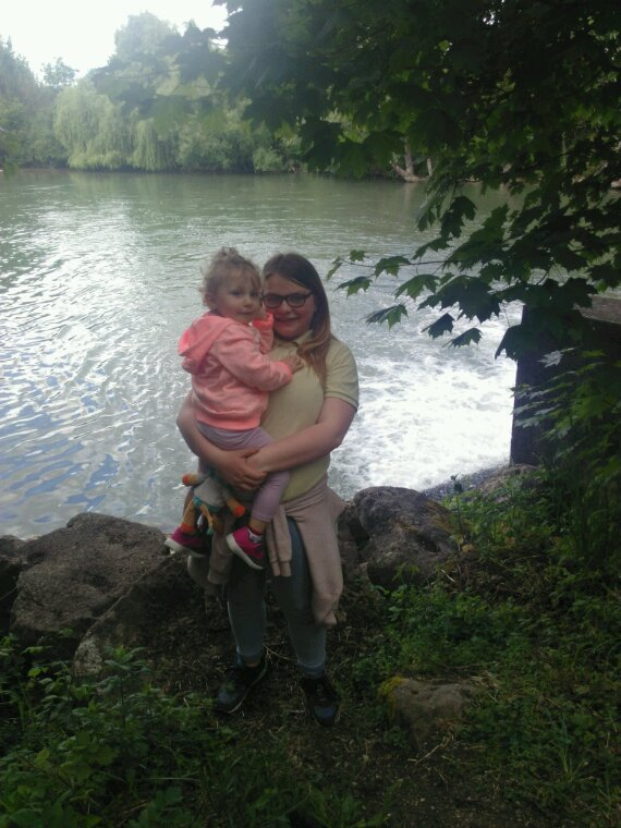Ballade  au parc et ferme avec mes filles et une de leurs amies ki