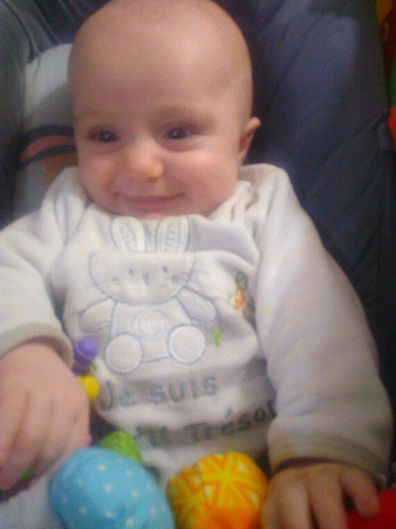 Mon tit prince bientôt 4 mois deja