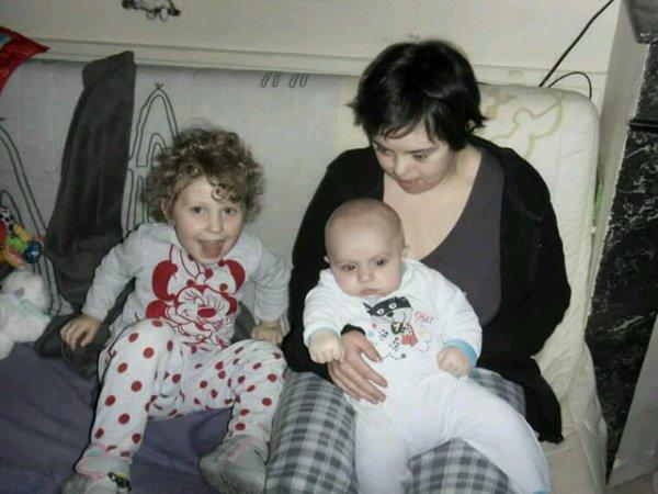 Mes trois merveilles..