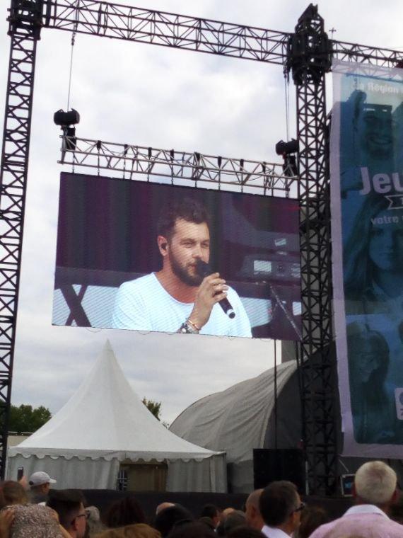 Claudio capeo au top en concert !!!