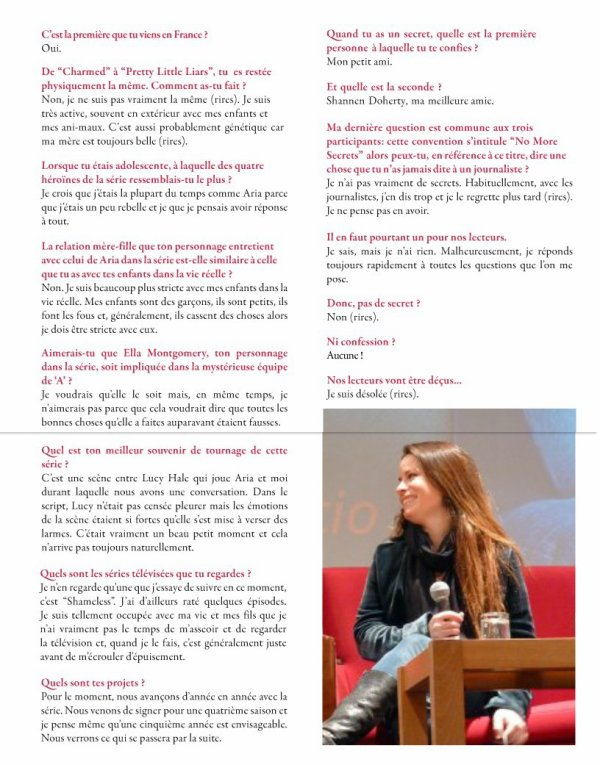 Interview d'Holly Marie Combs