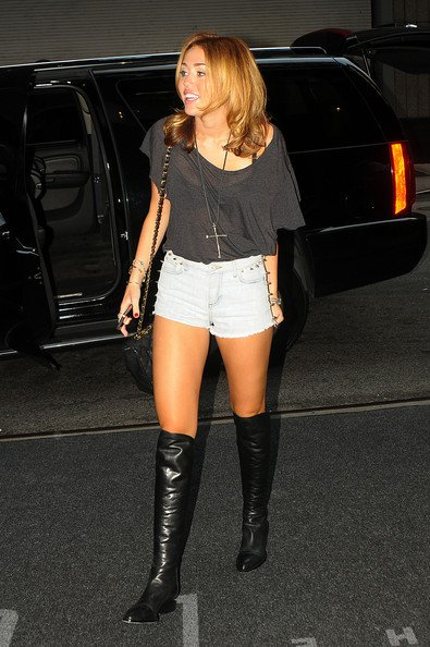 31 aout 2010 : miley cyrus in new york