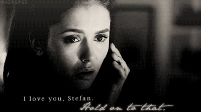 Because when you gets hurt, you can love. Love Stefan, that's the point.