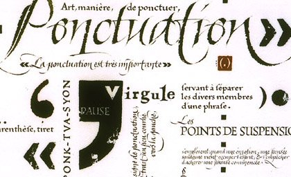 Ponctuations