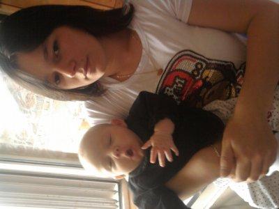Ingrid et sa fille