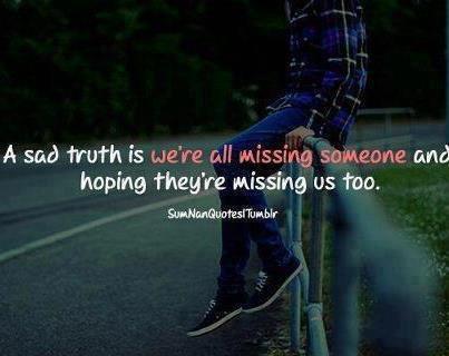 La solitude me pèse et le manque me tue...<3