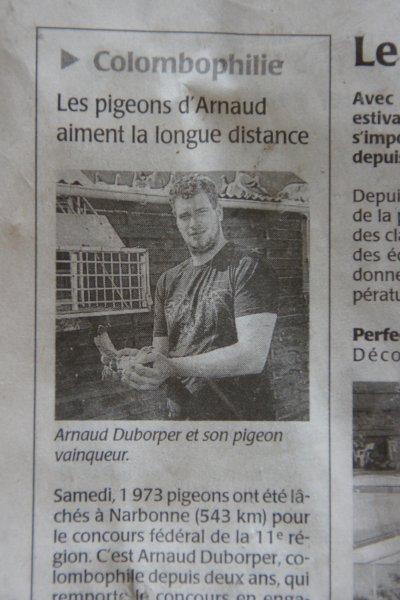 Titre à Narbonne 2011