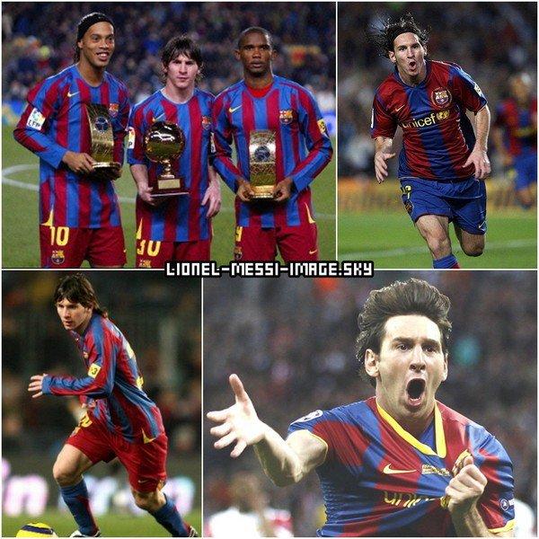 Montage de Lionel Messi