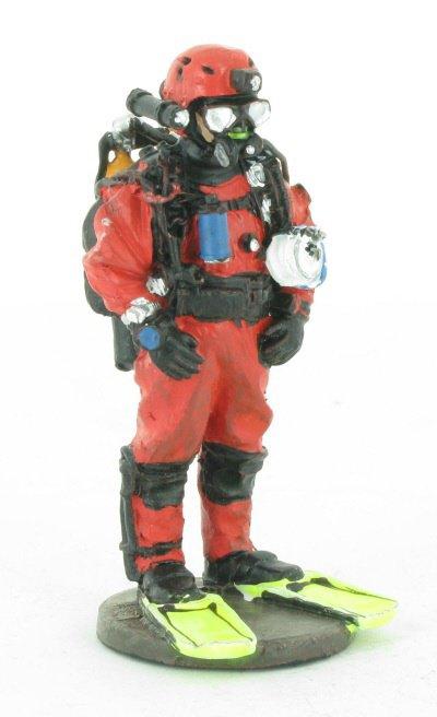 pompier tenu de plonge