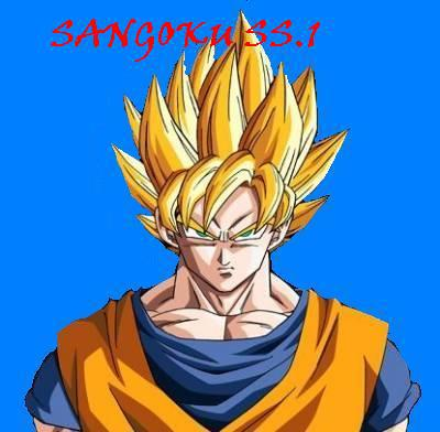 Sangoku super sayan 1 dragon ball - Sangoku super sayen 3 ...