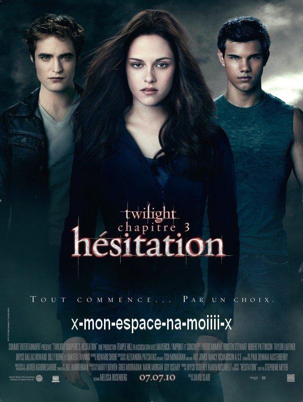 Article Film 12 : Twilight  - Chapitre 3 : Hésitation