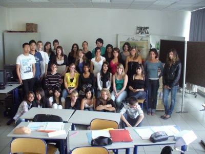 voici la  photo de ma classe de cette année