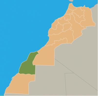 Laâyoune-Boujdour-Sakia El Hamra est une région du sud marocain.