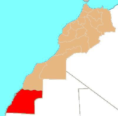Oued Ed-Dahab-Lagouira (en arabe : وادي الذهب لكويرة) est la région la plus australe du Maroc. Elle est limitée au nord par la région de Laâyoune-Boujdour-Sakia El Hamra, à l'est et au sud par la Mauritanie et à l'ouest par l'océan Atlantique.