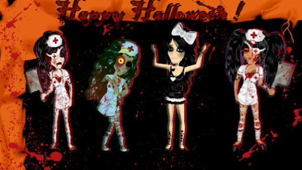 Montage Halloween *-* ♥.