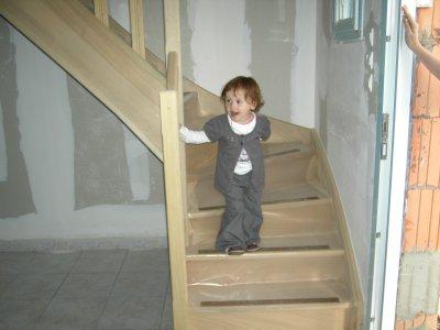 et voici l'escalier