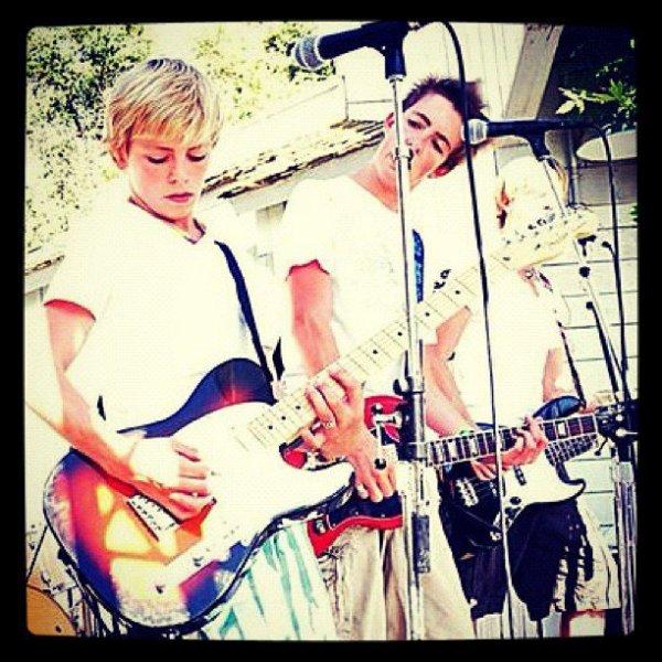 Riker ♥, Rocky ♥, Ross ♥