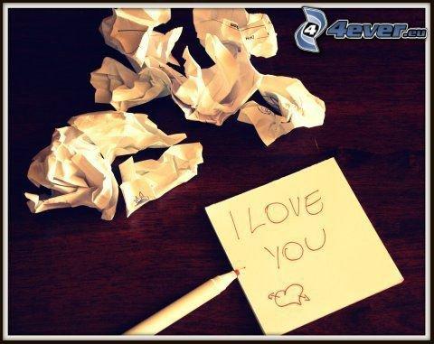 Je t'aime !!! ♥