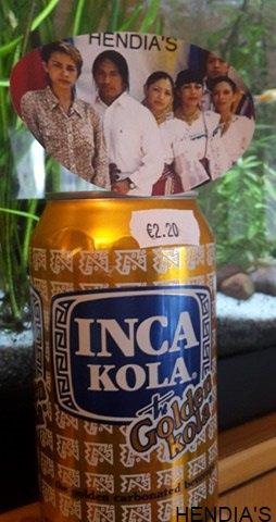 INCA COLA Chez HENDIA'S