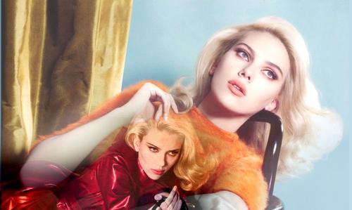 VGS Fanblog sur Scarlett Johansson Photoshoot : scans et seance décalé avec RD Jr.