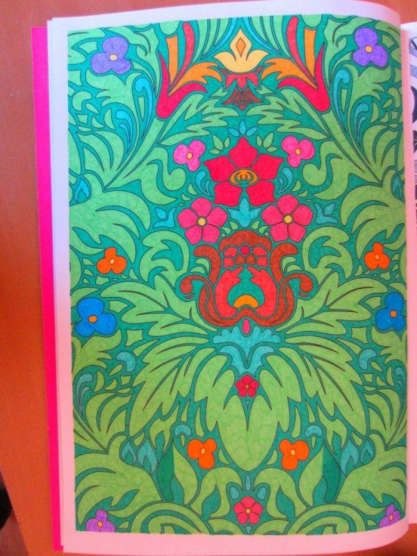 Coloriage n 4 art th rapie 100 coloriages anti stress - Coloriage art therapie ...