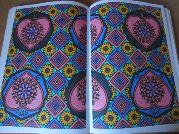Coloriage n 33 art th rapie 100 coloriages anti stress - Coloriage art therapie ...