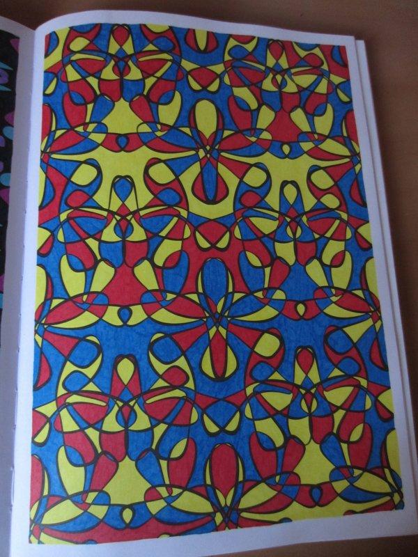 Coloriage n 39 art th rapie 100 coloriages anti stress - Coloriage art therapie ...