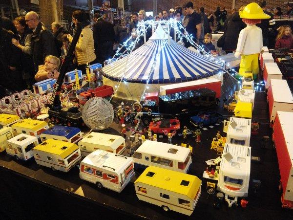 Expo playmobil à Saultain