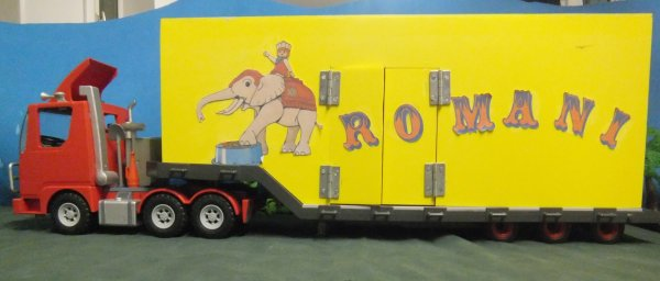 Présentation du cirque Romani 06