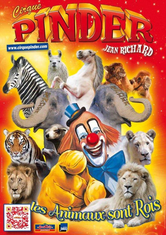 Vive PINDER, vive le cirque avec animaux !!!