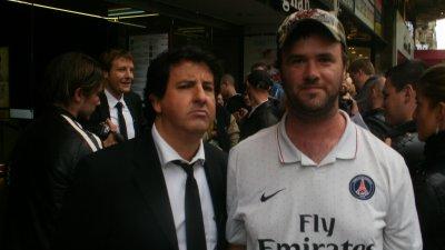 Phillipe Chéreau et Christophe Agius avec moi xD
