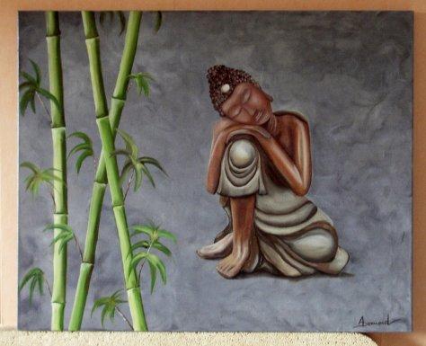 un autre bouddha   80 x 100