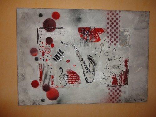 Harmonies du rouge et gris