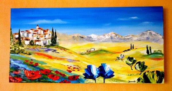Lumière Provençale    40 x 80