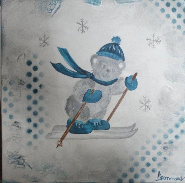 pour un bébé futur skieur...