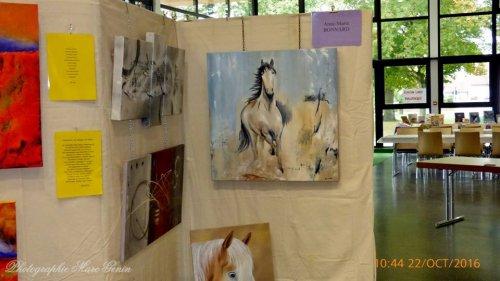 EXPOSITION ARTISTIQUE à SCHIRRHEIN : 21 -22 octobre 2017