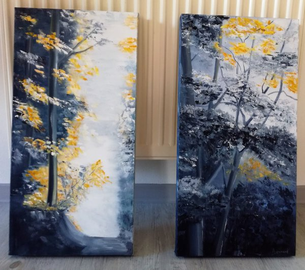 Rai de Lumière dans la Forêt