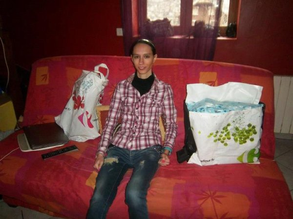 Moi et ma jumelle a noel 2012
