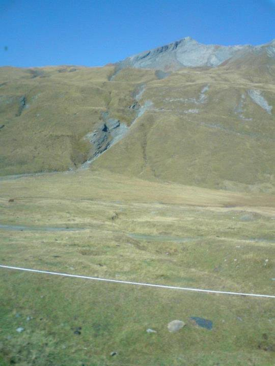 Promenade passée au col du Saint Bernard