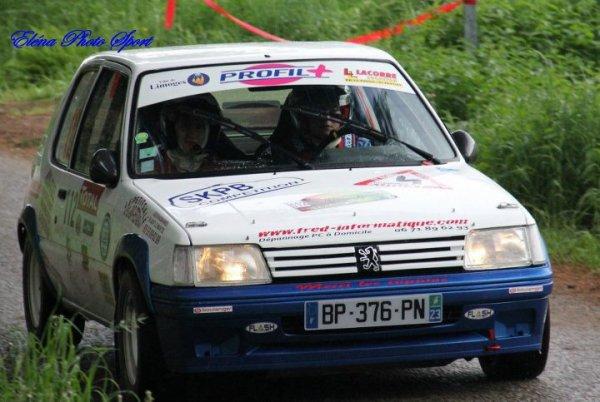 rallye de limousin 2012