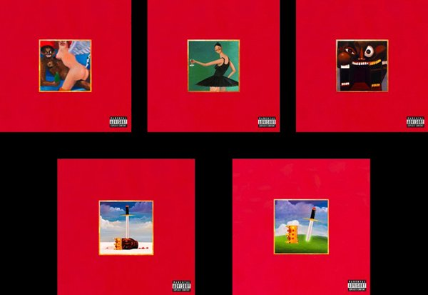 My Beautiful Dark Twisted Fantasy Disponible le 22 Novembre