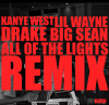 Kanye West - All Of The Lights (Remix) [Feat. Lil Wayne, Big Sean & Drake] (2011)