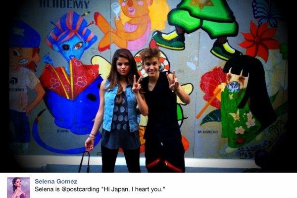 Selena Gomez à posté cette photo sur Facebook !