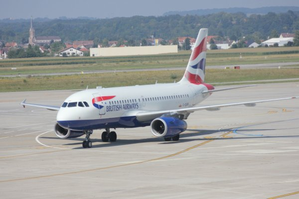 Airbus A319-131 de la British Airways