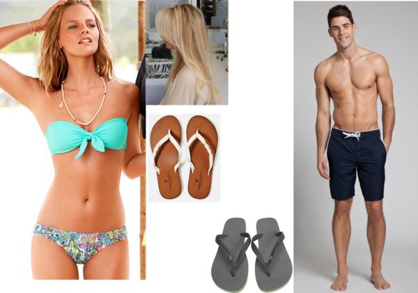Percy & Annabeth ---- Beach !!