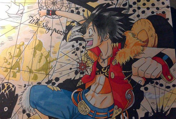 Fan Arts Luffy