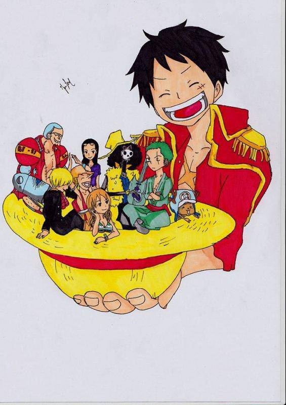 Fan Arts One Piece groupe